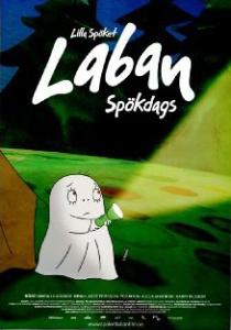 Lilla Spöket Laban, Spökdags, omslag